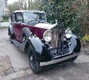 1937 Rolls Royce Phantom in Chepstow Races