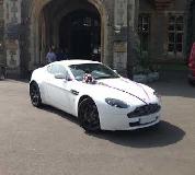 Aston Martin Vantage Hire  in Cardiff Bay