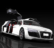 Audi R8 Limo Hire in South Wales
