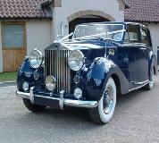 Blue Baron - Rolls Royce Silver Wraith Hire in Swansea