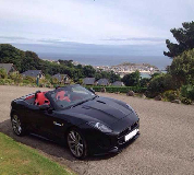 Jaguar F Type Hire in South Wales