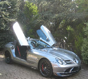 Mercedes Mclaren SLR Hire in Cardiff Bay
