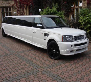 Range Rover Limo in South Wales