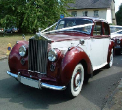 Regal Lady - Rolls Royce Silver Dawn Hire in Cardiff Bay