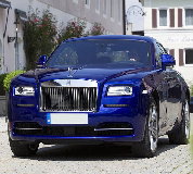 Rolls Royce Ghost - Blue Hire in England