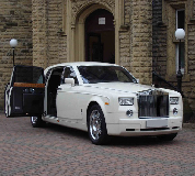 Rolls Royce Phantom Hire in South Wales
